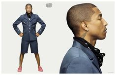 Pharrell Covers GQ Style Germany 2015 Issue, Photo Shoot Features Adidas Originals Collection