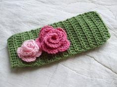My Creative Stirrings: Womens Crocheted Winter Headband Pattern