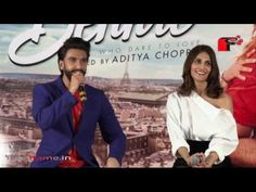 Ranveer Singh and Vaani kapoor at the song Launch of Befikre