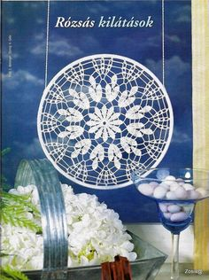 Mandala patron We are want to say thanks if you like to sh Crochet Art, Crochet Home, Thread Crochet, Love Crochet, Crochet Motif, Hand Crochet, Crochet Patterns, Doily Dream Catchers, Feather Dream Catcher