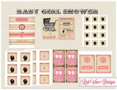 Baby Shower Party Printables