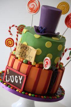 Willy Wonka - Cake by The Sugar & Spice Cake Company