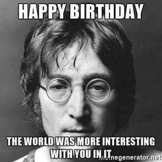 Remembering John Lennon On This His 77th Birthday 10-9- 1940 ☮️