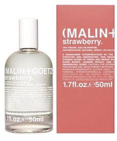 Malin+Goetz Strawberry Eau de Parfum, $95 Best Acne Products, Body Products, Beauty Junkie, Tinted Moisturizer, Beauty Shop, Clear Skin, Beauty Hacks, Bubbles, Strawberry