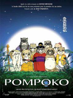 """Heisei Tanuki Gassen Ponpoko (Pom Poko)"" (1994). (Studio Ghibli)"
