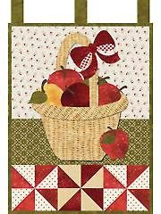 September Wall Hanging Laser-Cut Quilt Kit.  This would look adorable in my kitchen.
