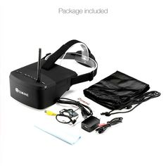 Cheap fpv goggles, Buy Quality eachine goggles directly from China goggles fpv Suppliers: Eachine 5 Inches Raceband Auto-Searching FPV Goggles With Build-in Battery For FPV Quadcopter RC Drones Drones, Drone Quadcopter, Derby, Car Search, Vr Headset, Remote Control Toys, Videos, Racing, Stuff To Buy