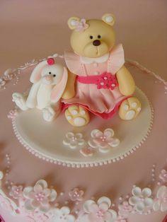 Bear and Bunny cake | Flickr - Photo Sharing!