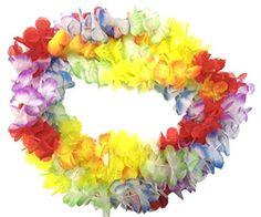 BOSHENG Hawaiian Colorful Flower Leis Necklaces for Tropi... https://www.amazon.com/dp/B01FTUZCZS/ref=cm_sw_r_pi_dp_zo3wxb0XTFNAM