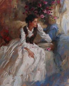 Живопись Женственность в работах Ричарда Джонсона (Richard S. Johnson) - monich65