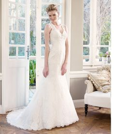 Luv Bridal - M1330Z Lace Wedding Dress with Key hole back (http://www.luvbridal.com/m1330z-1/)