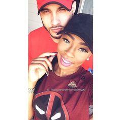Super cute interracial couple #love #wmbw #bwwm #swirl