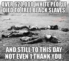 What OTHER race has been given so much & produced so little!?!