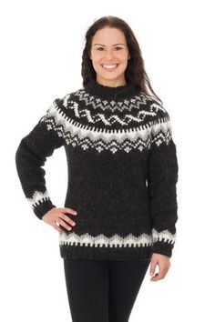Hrafnhildur - Icelandic Sweater - Black Sheep, Icelandic Sweater Pullover - icelandicstore.is