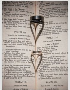 Nice ring and bible photo