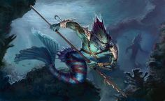 merfolk pathfinder - Google Search