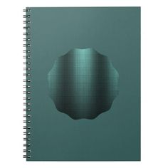 Elegant blue green metallic look with black traces spiral note books http://www.zazzle.com/elegant_blue_green_metallic_look_with_black_traces_notebook-130046332115858270