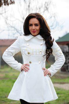 LaDonna Fashion Journey White Coat