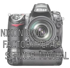 nikon d200 service repair manual guide pdf download cameras rh pinterest com nikon d200 user manual nikon d200 repair manual pdf