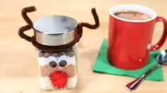 Cute for kids and grown ups alike, this hot chocolate mix makes the perfect last-minute gift. It calls for only five ingredients and can be made in 15 minutes flat.