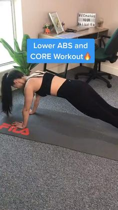 Full Body Gym Workout, Ab Core Workout, Gym Workout Videos, Gym Workout For Beginners, Fitness Workout For Women, Workout Challenge, Gym Workouts, Walking Workouts, Waist Workout
