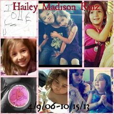 """Michelley Ruiz's #OneDegree: """"My daughter Hailey diagnosed with dipg Jan. 1st 2013 passed ten and a half months later"""""""