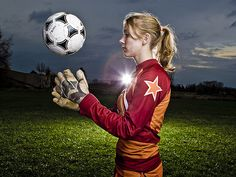 How To: Use Remote Lighting to Add Depth Senior Soccer Poses, Soccer Senior Pictures, Soccer Team Photos, Country Senior Pictures, Sports Photos, Soccer Shoot, Senior Pics, Soccer Goalie, Soccer Boys
