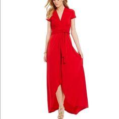 Michael Kors wrap dress Wrap dress.  Never worn, with tags.  Zips at side. MICHAEL Michael Kors Dresses