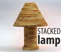 Animated Stacked lamp