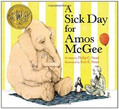Read A Sick Day for Amos McGee - Zoo theme for preschool