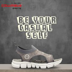 It makes feel good to have some comforting effect on our feet. Now get that feel with the most comfortable pair of sandal. #comfortablesandal #casuallooks #casualsandal #columbusindia #clbsports