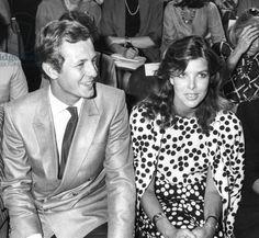 Dior fashion show, Paris, July 24, 1984 Caroline de Monaco