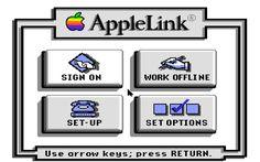AppleLink IIGS start screen America Online, Apple Ii, Start Screen, Ideas, Thoughts