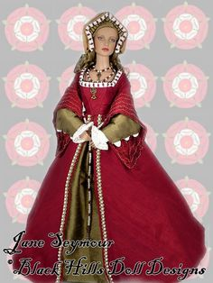 Black Hills Doll Designs - Jane Seymour - 3rd wife of Henry VIII