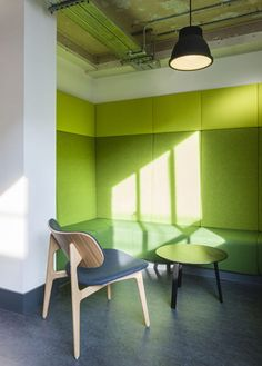 Campus by Jump Studios Office Interior Design, Office Interiors, Cnc, Davis Furniture, Google Office, Cool Office Space, Start Ups, Acoustic Panels, Industrial Office
