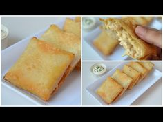 Creamy Chicken Cheese Parcels || Box Patties (RAMADAN SPECIAL) by YES I CAN COOK - YouTube Chicken Squares, Parcel Box, Cutlets Recipes, Chaat, Biryani, Yum Yum Chicken, Creamy Chicken, Yummy Food, Kid Snacks