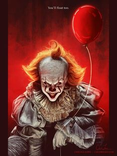 18 x 24 POSTER - You'll Float Too