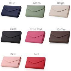 Women Hasp Short Wallet Girls Purse Card Holder Coin Bag 5.5 Inches Phone Bag Fo - US$13.88