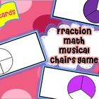 Get your students up and moving while they review fractions.  Your students will review 1/2, 1/3, and 1/4.  You get 18 cards to use with your stude...