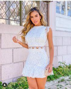 White Dress, Mini, Hot, Sexy, Instagram Posts, Dresses, Fashion, Vestidos, Moda