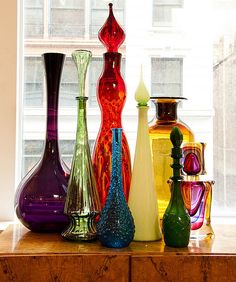 I'm working on a bottle collection for our new house. Please, let me know if you have any you're willing to part with!!!