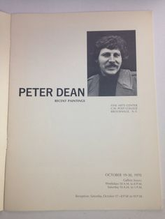 Peter Dean FREE US SHIPPING Recent Paintings 1970 Satire Fantasy Surrealism