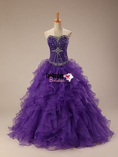 Wholesale 2017 Sweet 15 Dress New Beaded Quinceanera Dress Ball Gown Formal Prom Party Wedding Dress Custom