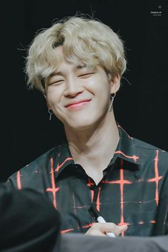 Jimin smile eye smile