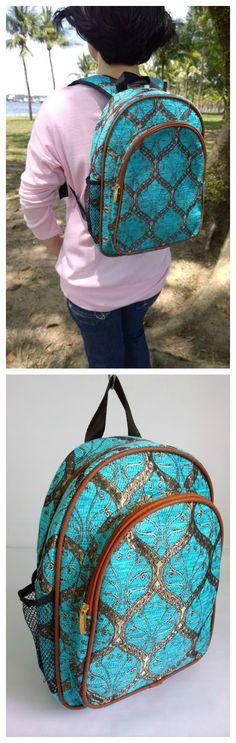 Boho Embroidery Backpack - Ethnic Gypsy Bag - Boho Rucksack - Hipster Backpack