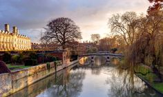 The Backs in Cambridge: a picturesque area where a lot of colleges back on to the river Cam.. I love go there both in a sunny summer  evening and in a cold winter morning... like this year with a little bit of snow: it is always a magical place!