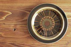 【ヴィンテージ】Arabia/アラビア/KOSMOS/コスモス/プレート(20cm) Ceramics, Brown, Ceramica, Pottery, Brown Colors, Ceramic Art, Porcelain, Ceramic Pottery