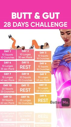 Custom Workout And Meal Plan For Effective Weight Loss! Transform the body just in 28 days! The workout below will help you to achieve desired results in 1 month! Try and prepare the body to summer! Weight Loss Workout Plan, At Home Workout Plan, At Home Workouts, 1 Month Workout Plan, Starter Workout Plan, Exercise For Beginners At Home, Fitness Workouts, Easy Workouts, Butt Workouts