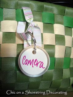 Cute and easy DIY organizing hang tags/labels