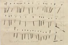 Jane Austen Used Pins to Edit Her Abandoned Manuscript, The Watsons:  Before the word processor, before Whiteout, before Post It Notes, there were straight pins. Or, at least that's what Jane Austen used to make edits in one of her rare manuscripts.